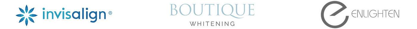 Invisalign, Boutique, Eligten logo